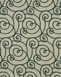 Robert Allen Flocked Scroll Jewel Fabric