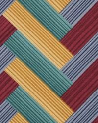 Robert Allen Legend Chevron 492-bouquet Fabric