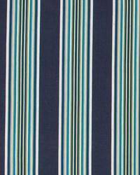 Robert Allen Villa Stripe Indigo Fabric