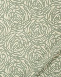 Robert Allen Mod Circles BK Rain Fabric