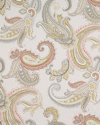 Robert Allen Global Paisley Blush Fabric