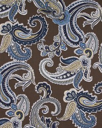 Robert Allen Global Paisley Truffle Fabric