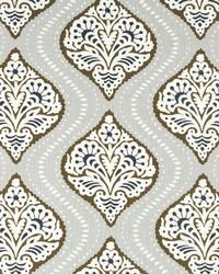 Robert Allen Kavali Ogee Bronze Fabric