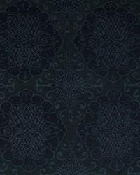 Robert Allen Grand Motif Bk Azure Fabric