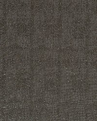 Robert Allen Smooth Croc Graphite Fabric