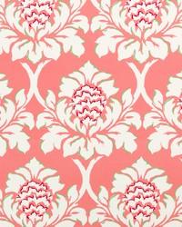 Robert Allen Palm Gardens Rhubarb Fabric