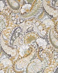 Robert Allen Zen Paisley Amber Fabric