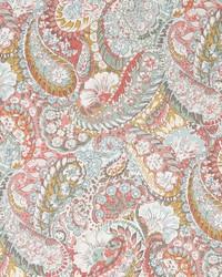 Robert Allen Zen Paisley Coral Fabric