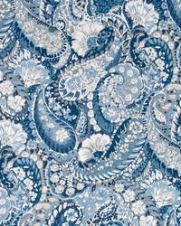 Robert Allen Zen Paisley Indigo Fabric