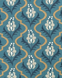 Robert Allen Saskia Peacock Fabric