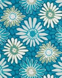 Robert Allen Tactile Bloom Turquoise Fabric
