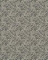 Robert Allen Randili Maze Charcoal Fabric