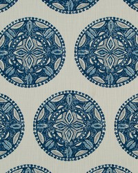 Robert Allen Amapondo Indigo Fabric