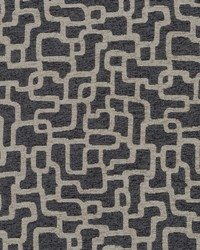 Robert Allen Mangisa Bk Charcoal Fabric