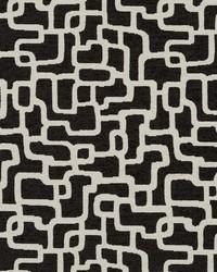 Robert Allen Mangisa Bk Soft Black Fabric