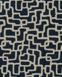 Robert Allen Mangisa Bk Indigo Fabric