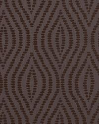 Robert Allen Crystal Ogee Chocolate Fabric
