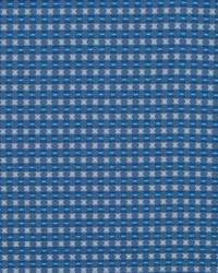 Robert Allen Petal Grid Cobalt Fabric