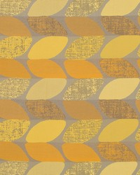 Robert Allen Leaf Repeat Lemon Fabric
