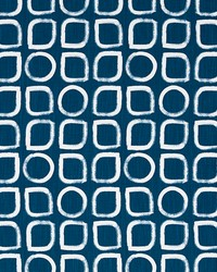 Robert Allen ASAWA BLOCK MIDNIGHT Fabric