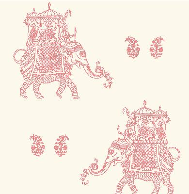 Brewster Wallcovering Ophelia Pink Elephant Pink Search Results