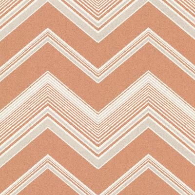 Brewster Wallcovering Bearden Orange Zig Zag Orange Search Results
