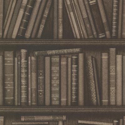 Brewster Wallcovering Atheneum Brown Antique Books Brown Search Results