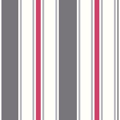Brewster Wallcovering Sunshine Stripe Grey Stripe Grey Boys Wallpaper