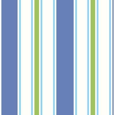 Brewster Wallcovering Sunshine Stripe Green Stripe Green Boys Wallpaper