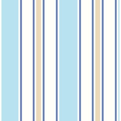 Brewster Wallcovering Sunshine Stripe Sky Stripe Sky Boys Wallpaper