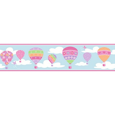 Brewster Wallcovering Balloons Blue Border Blue Search Results