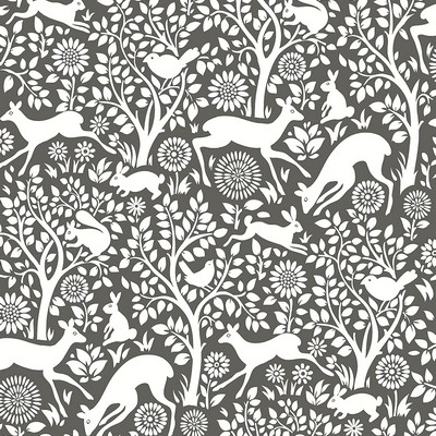 Brewster Wallcovering Meadow Charcoal Animals Wallpaper Charcoal Search Results