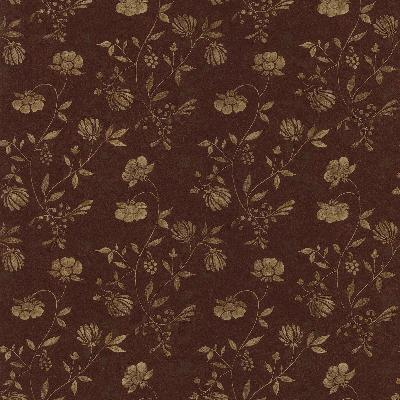 Brewster Wallcovering Tudor Burgundy Country Jacobean Burgundy New Country