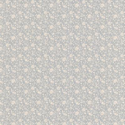 Brewster Wallcovering Vermont Blue Small Daisy Blue New Country