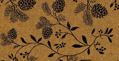 Brewster Wallcovering Ponderosa Light Brown Pinecones Light Brown New Country
