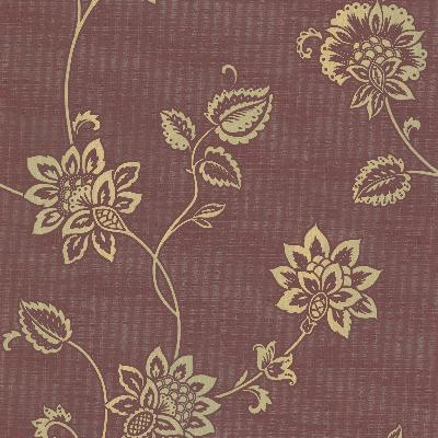Brewster Wallcovering Gemini Burgundy Jacobean Trail Burgundy Brewster Wallpaper