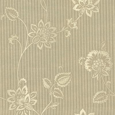 Brewster Wallcovering Gemini Light Brown Jacobean Trail Light Brown Brewster Wallpaper