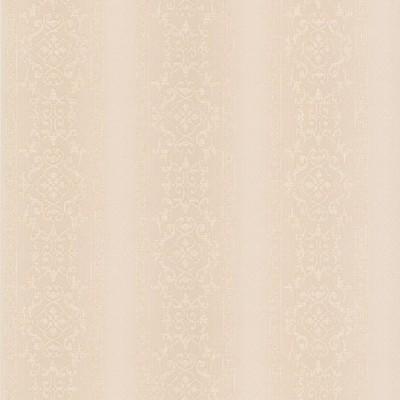 Mirage Camden Cream Ornate Stripe Cream Brewster Wallpaper