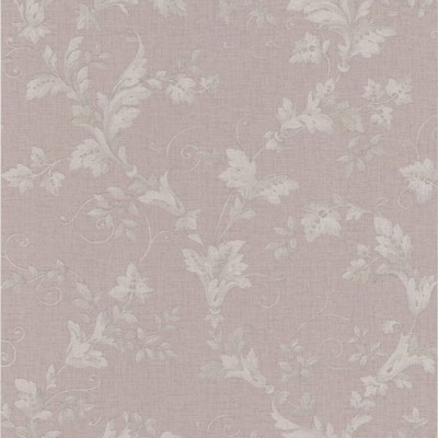 Mirage Thames Mauve Leafy Scroll Mauve Brewster Wallpaper