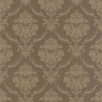 Mirage Westminster Brown Damask Brown Brewster Wallpaper