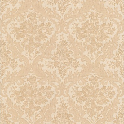 Mirage Cotswold Peach Floral Damask Peach Brewster Wallpaper