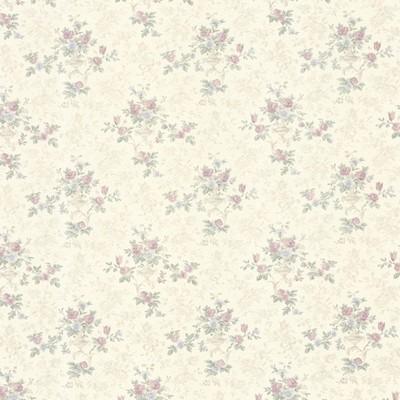 Mirage Kezea Lavender Petit Floral Urn Lavender Brewster Wallpaper