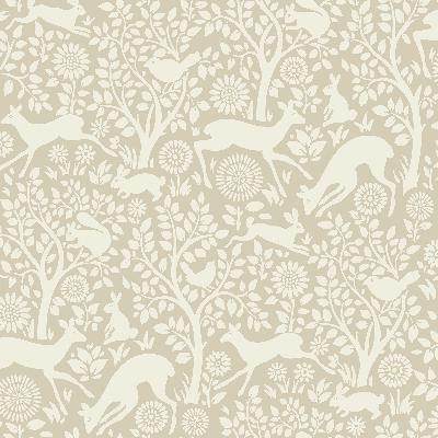 Brewster Wallcovering Anahi Neutral Forest Fauna  Neutral Search Results