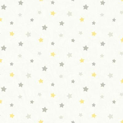 Brewster Wallcovering Yoni Grey Dancing Stars Grey Baby Nursery Wallpaper