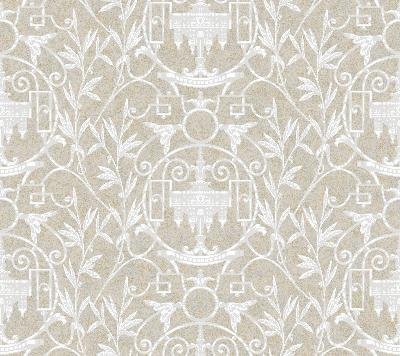 Brewster Wallcovering Neutral Simonkee Neutral Ethnic and Global
