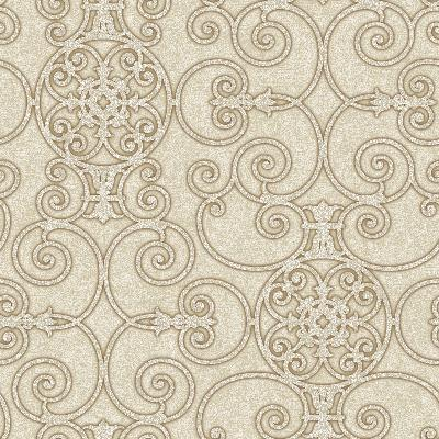 Brewster Wallcovering White Belleek White Ethnic and Global