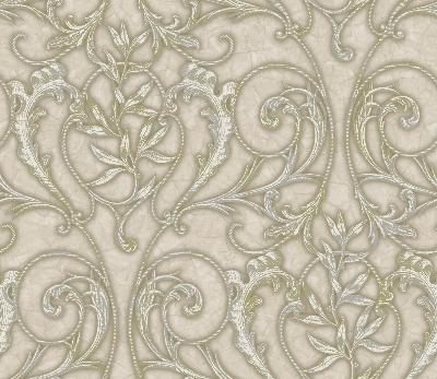 Brewster Wallcovering Neutrals Celine Neutral Ethnic and Global