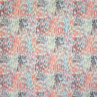 Greenhouse Fabrics B6660 CORAL Abstract Fabric