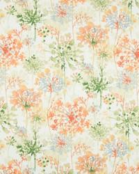 Greenhouse Fabrics B7222 ORANGE BLOSSOM Fabric