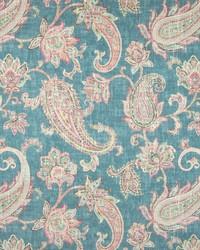 Greenhouse Fabrics B7234 TURQUOISE Fabric